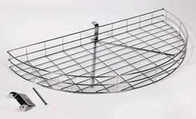 Wire corner carousel