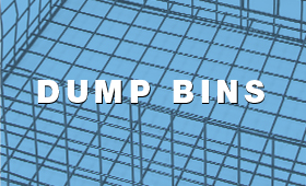 Wire Dump Bins