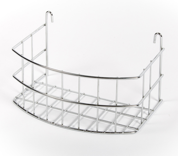 Curved Door Rack, storage, caravan, motorhome, wirework