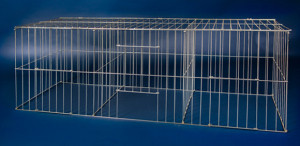 Collapsible Bird Show Cage, birds, pets, animals, JW Lister, Wire work