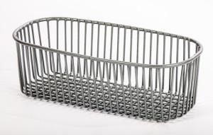 JW Lister, wirework, half bowl strainer basket, sinks