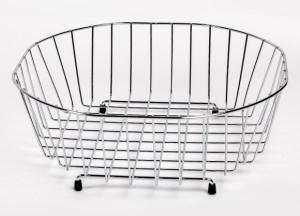 Octagonal Sink Basket, sink, JW Lister, Wirework