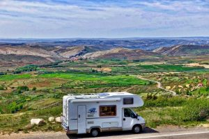 Caravan, Motor-home, Travelling