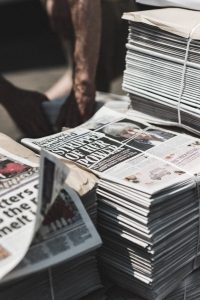 newspapers, newspaper stand, newspaper rack